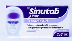 Picture of SINUTAB 3 - WAY TABLETS - 20'S