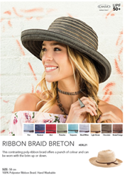 Picture of GET OUT & PLAY COLLECTION - RIBBON BRAID BRETON