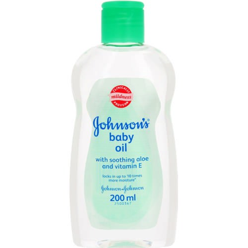 Picture of JOHNSON'S BABY OIL - ALOE VERA - 200ML