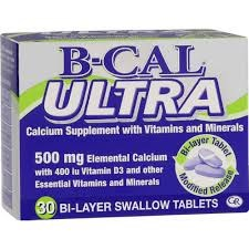 Picture of B-CAL ULTRA TABLETS - 30'S