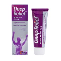 Picture of DEEP RELIEF IBUPROFEN GEL - 50G