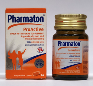 Picture of PHARMATON PROACTIVE 40MG CAPSULES - 30'S