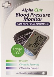 Picture of ALPHA CLIN BLOOD PRESSURE MONITOR