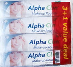 Picture of ALPHA CLIN MAKE-UP ROUNDS - 4 X 80'S