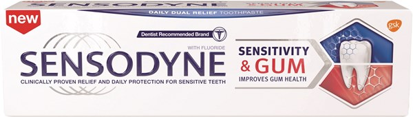 Picture of SENSODYNE SENSITIVITY & GUM TOOTHPASTE