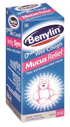 Picture of BENYLIN CHILDREN WET COUGH MUCUS RELIEF - 100ML