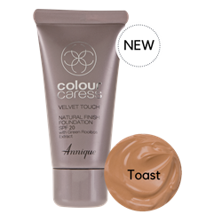 Picture of ANNIQUE CC FOUNDATION - VELVET TOUCH FINISH SPF20 - TOAST