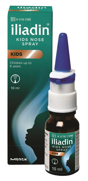 Picture of ILIADIN KIDS NOSE SPRAY 10ML