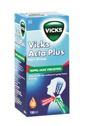 Picture of VICKS ACTA PLUS COUGH SYRUP - 150ML