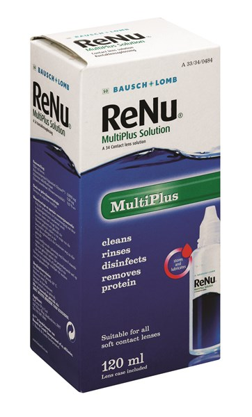 Picture of BAUSCH&LOMB RENU MULTIPLUS SOLUTION - 120ML