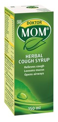 Picture of DOKTOR MOM HERBAL COUGH SYRUP - 150ML