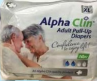 Picture of ALPHA CLIN ADULT DIAPER PULL UP - MEDIUM - 10'S