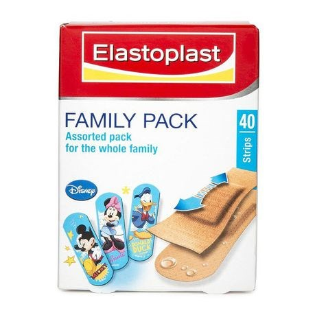 Picture of ELASTOPLAST FAMILY PACK - ASSORTED - 40's