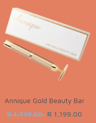 Picture of ANNIQUE 24K GOLD BEAUTY BAR