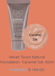 Picture of ANNIQUE CC FOUNDATION - VELVET TOUCH FINISH SPF20 - CARAMEL SILK