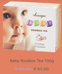 Picture of ANNIQUE BABY - BABY ROOIBOS TEA