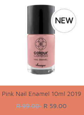 Picture of ANNIQUE CC - NAIL ENAMEL - PINK