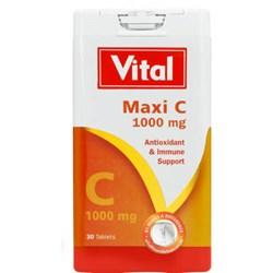 Picture of VITAL MAXI C 1000MG  - 30'S