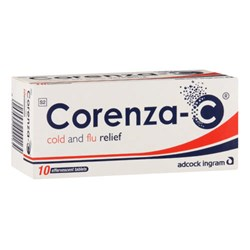 Picture of CORENZA-C EFFERVESCENT TABS 10'S