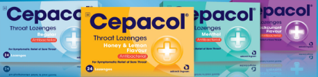 Picture of CEPACOL LOZENGES - 24'S