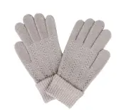Picture of COSY GLOVES - GREY