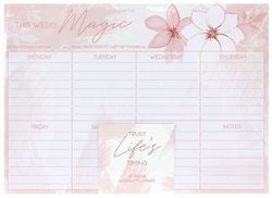 Picture of FLORAL WISDOM - WEEKLY PLANNER