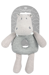 Picture of PLUSH HIPPO RATTLE