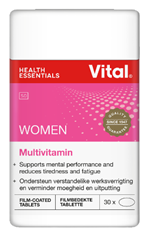 Picture of VITAL WOMEN MULTIVITAMIN - 30 TABLETS