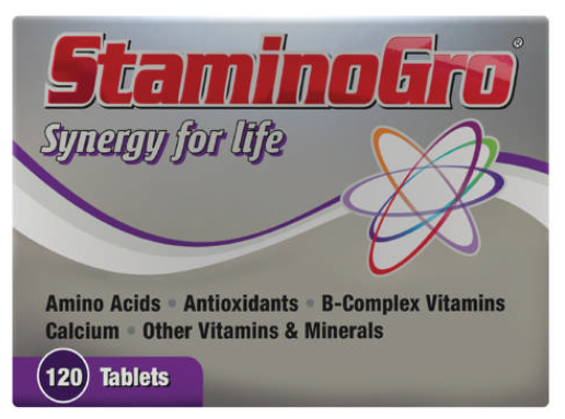 Picture of STAMINOGRO TABLETS 120'S