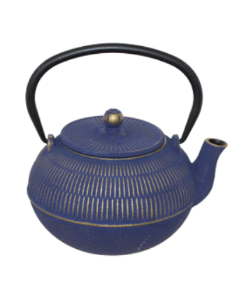 Picture of CAST IRON TEA POT BLUE- 900ML