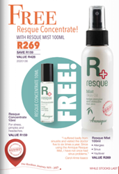Picture of ANNIQUE - RESQUE MIST PLUS FREE RESQUE CONCENTRATE