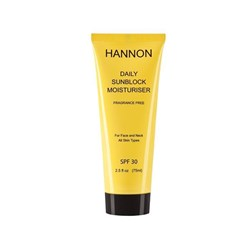Picture of HANNON DAILY SUNBLOCK MOISTURISER SPF30